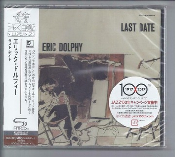 Eric Dolphy last date `65 live SHM-CD JAPAN Schols доставка товаров из Польши и Allegro на русском