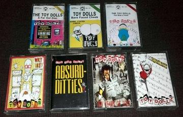 Коллекция из 7 кассет TOY DOLLS доставка товаров из Польши и Allegro на русском