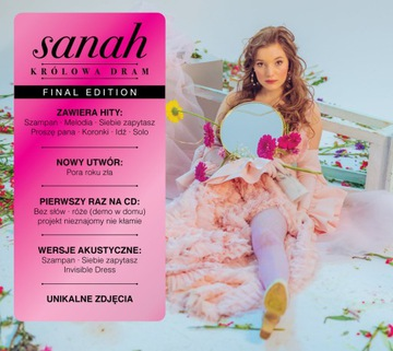 SANAH - KRÓLOWA DRAM [ 2xCD ] FOLIA FINAL EDITION доставка товаров из Польши и Allegro на русском