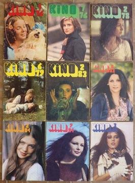 КИНО ежемесячный журнал - 1976-1985 - 9 шт. доставка товаров из Польши и Allegro на русском