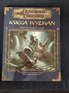 D&D Dungeons and Dragons Księga Wyzwań UNIKAT доставка товаров из Польши и Allegro на русском
