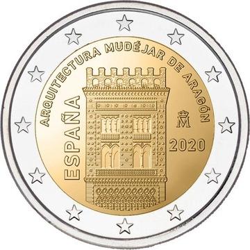 2 евро Испания Мудехар 2020 доставка товаров из Польши и Allegro на русском