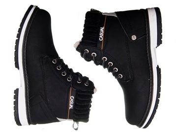 (Обувь ботинки на толстой рельефной подошве утепленные Зимние Сапоги Śniegowce) доставка товаров из Польши и Allegro на русском