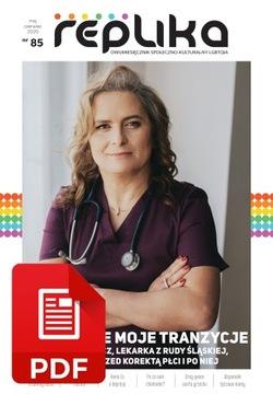 Реплика 85 журнал ЛГБТ-май/июнь. 2020 версия PDF доставка товаров из Польши и Allegro на русском