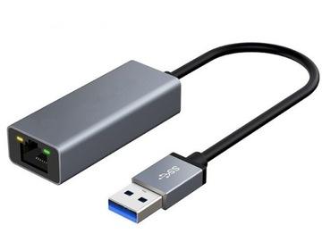 СЕТЕВАЯ КАРТА USB 3.0 GIGABIT LAN 100/1000 мбит RJ45 доставка товаров из Польши и Allegro на русском