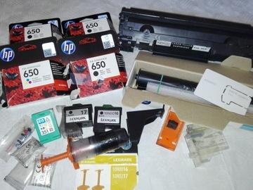 Zestaw HP, Lexmark, Philips доставка товаров из Польши и Allegro на русском
