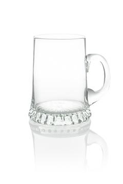 Кружка стакан для пива 1Л с ушком, РУЧНОЕ ПРОИЗВОДСТВО доставка товаров из Польши и Allegro на русском