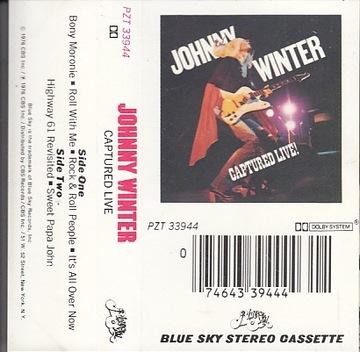 Johnny Winter Captured Live! /USA /MC доставка товаров из Польши и Allegro на русском