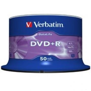VERBATIM DATALIFE диск DVD+R 16x 4.7 GB CAKE 50шт доставка товаров из Польши и Allegro на русском