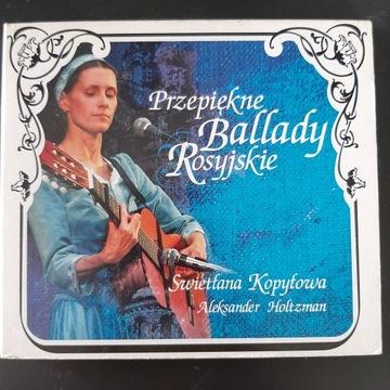 Przepiękne Ballady Rosyjskie Swietłana Kopyłowa CD доставка товаров из Польши и Allegro на русском