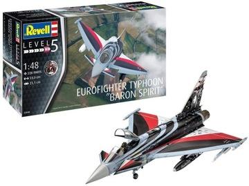 Eurofighter Typhoon БАРОН SPIRIT Revell 03848 1/48 доставка товаров из Польши и Allegro на русском