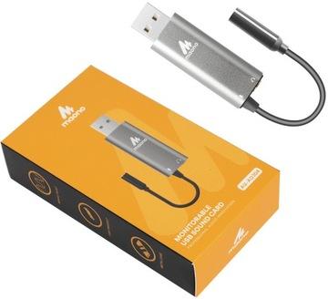ЗВУКОВАЯ КАРТА, МУЗЫКАЛЬНАЯ USB MAONO AU-AD304 ПК доставка товаров из Польши и Allegro на русском