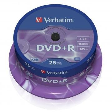 ДИСК VERBATIM DVD+R LO, 4,7 ГБ, СКОРОСТЬ 16Х доставка товаров из Польши и Allegro на русском