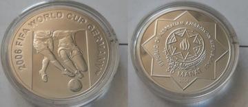 АЗЕРБАЙДЖАН 50 манат 2006 FIFA Футбол редкая доставка товаров из Польши и Allegro на русском