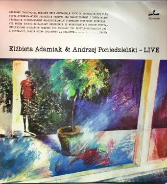 LP ELŻBIETA ADAMIAK ANDRZEJ PONIEDZIELSKI LIVE доставка товаров из Польши и Allegro на русском