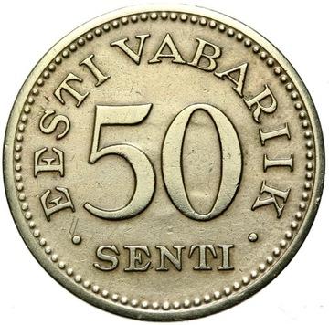 + Эстония - 50 Senti 1936 - ГОСУДАРСТВО! доставка товаров из Польши и Allegro на русском