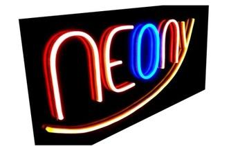 # НЕОН # надпись неоновый не стеклянный LED ПРОИЗВОДИТЕЛЬ доставка товаров из Польши и Allegro на русском