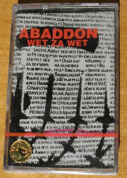 ABADDON - WET ZA WET kaseta unikat ! punk доставка товаров из Польши и Allegro на русском