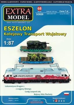 Eszelon - Транспорт Wojskowy_Extra Модель__НОВИНКА!!! доставка товаров из Польши и Allegro на русском