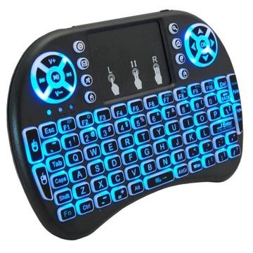 Беспроводная клавиатура с подсветкой smart tv i8 доставка товаров из Польши и Allegro на русском