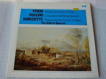 Verdi Puccini Donizetti String Quartet Alberni LP доставка товаров из Польши и Allegro на русском