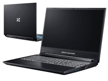 DreamMachines i5-9300H GTX1660Ti 16GB SSD1TB Win10 доставка товаров из Польши и Allegro на русском