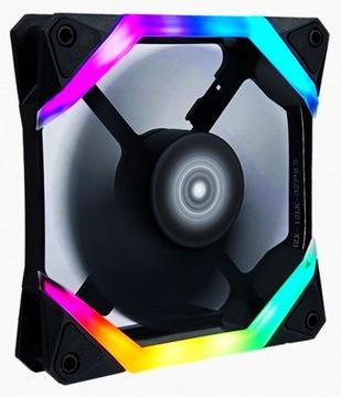 Wentylator LED RGB Rainbow Spider 3pin +molex 4pin доставка товаров из Польши и Allegro на русском