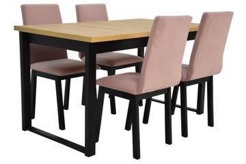 4 стула +стол раздвижной LOFT РАЗНЫЕ ЦВЕТА доставка товаров из Польши и Allegro на русском