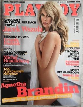 Playboy № 8/2008 (188) - Агнета Брандин доставка товаров из Польши и Allegro на русском