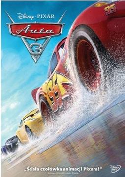 Dvd: AUTA 3 (2017) - Disney - FOLIA доставка товаров из Польши и Allegro на русском