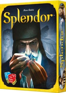 Настольная игра SPLENDOR семейная редактирование PL доставка товаров из Польши и Allegro на русском
