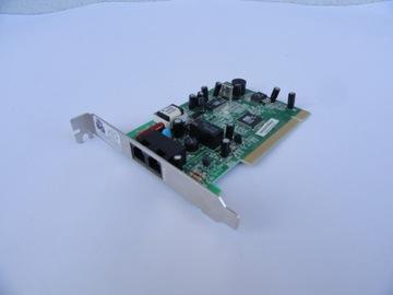 Модем PCI Microcom 56K ESS TELEDRIVE ES2898S доставка товаров из Польши и Allegro на русском