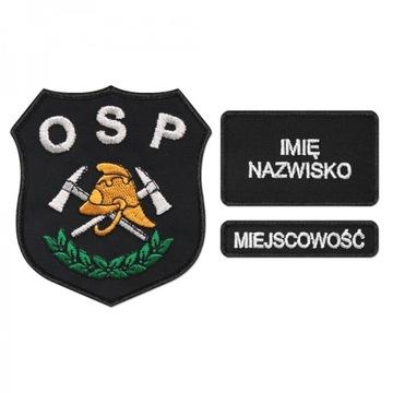 S03 Эмблема узор OSP для пожарных доставка товаров из Польши и Allegro на русском