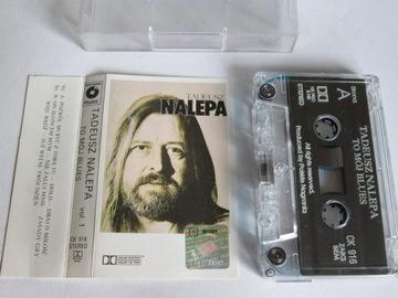 Tadeusz Nalepa-To Mój Blues vol.1 kaseta 1989 PN доставка товаров из Польши и Allegro на русском