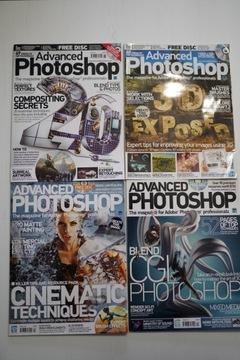 Advanced Photoshop. английская версия. English, CD доставка товаров из Польши и Allegro на русском