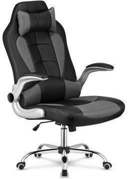 Fotel gamingowy biurowy krzesło gracza kubełkowy доставка товаров из Польши и Allegro на русском