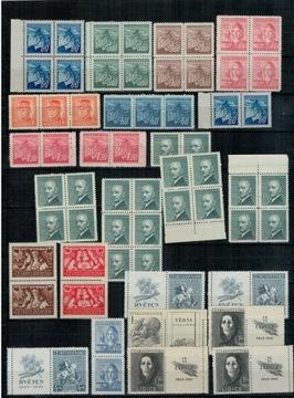 Чехословакия 1945-49 Набор марок ** многоугольники доставка товаров из Польши и Allegro на русском