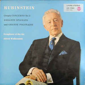 M - Rubinstein - Chopin Concerto No. 2 Andante... доставка товаров из Польши и Allegro на русском