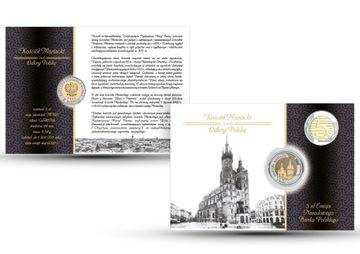 5 zł Kościół Mariacki 2020 nr 11 blister доставка товаров из Польши и Allegro на русском