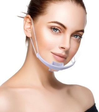 Прозрачные маски маски маска козырек доставка товаров из Польши и Allegro на русском