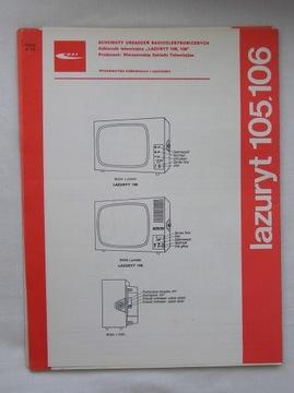 ODBIORNIK TELEWIZYJNY LAZURYT 105 106 INSTRUKCJA доставка товаров из Польши и Allegro на русском