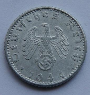 ГЕРМАНИЯ 50 PFENNIG 1944 Г СОСТОЯНИЕ 1- доставка товаров из Польши и Allegro на русском