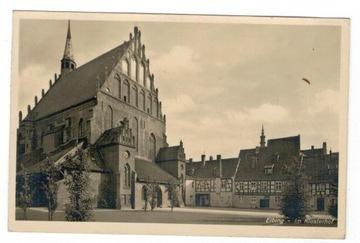 Pocztówka 1935 Elbląg Kościół Mariacki доставка товаров из Польши и Allegro на русском