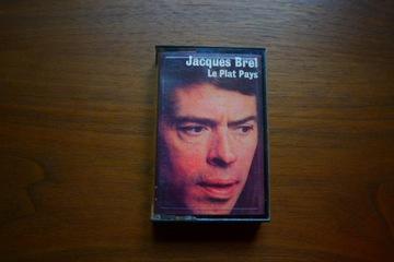 Jacques Brel - Le Plat Pays kaseta Made in France доставка товаров из Польши и Allegro на русском