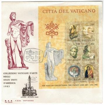 КПД Ватикан 1983 искусство, антиквариат археология выставка доставка товаров из Польши и Allegro на русском