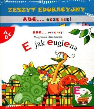 ABC UCZĘ SIĘ KOLEKCJA HACHETTE nr 5 E jak euglena доставка товаров из Польши и Allegro на русском