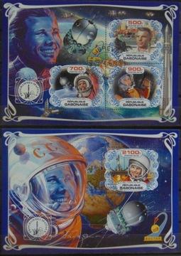 Исследование космоса Гагарин Восток листов.+bl. #47166a-b доставка товаров из Польши и Allegro на русском