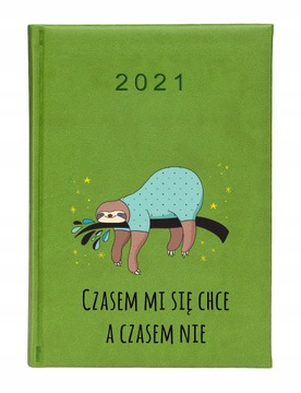Kalendarz książkowy 2021 A5 z nadrukiem kolorowym доставка товаров из Польши и Allegro на русском