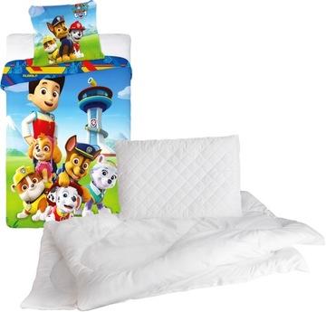 Комплект одеяло подушка, постельное белье 100x135 см УЗОРЫ доставка товаров из Польши и Allegro на русском