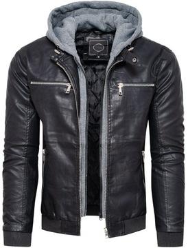 Кожаная куртка мужская 2 в 1 XXL доставка товаров из Польши и Allegro на русском